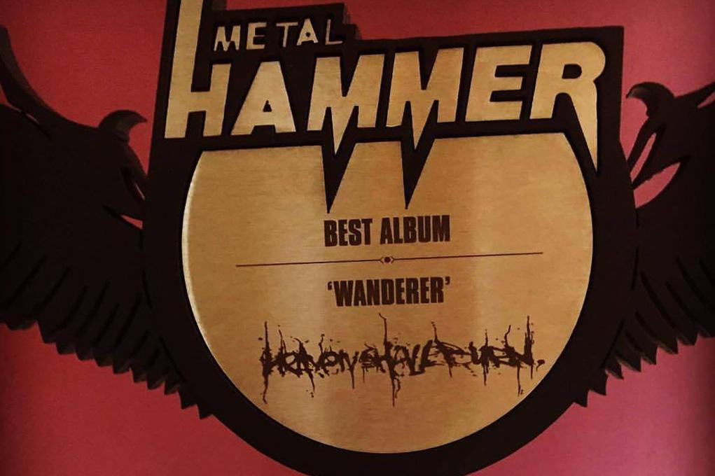 Best Album Metal Hammer Awards 2017 Chris Bass